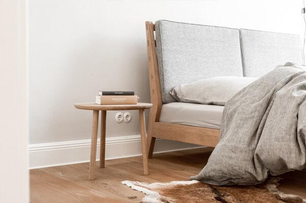 Komplet: łóżko istoliki nocne